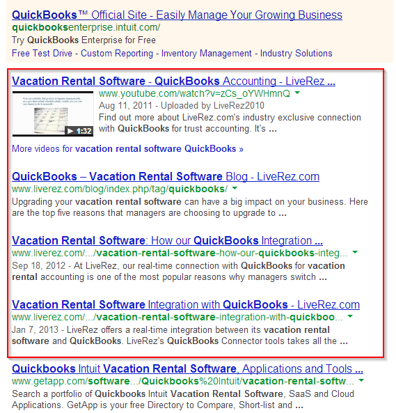 QuickBooks Vacation Rental Software
