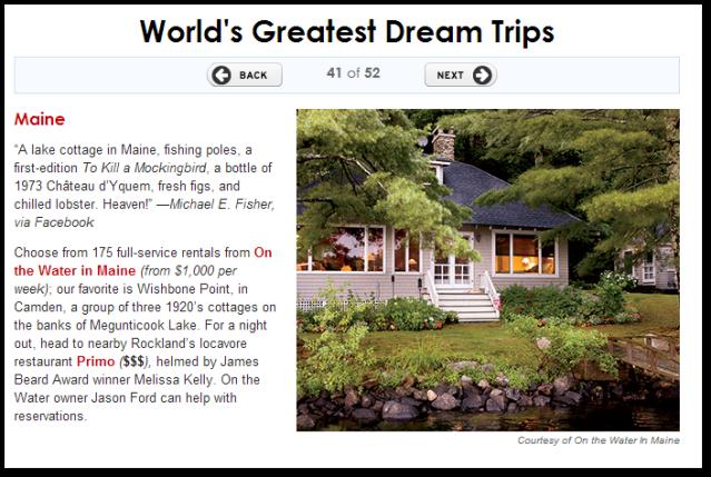 Travel Leisure Dream Vacation
