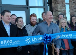 LiveRez Ribbon Cutting