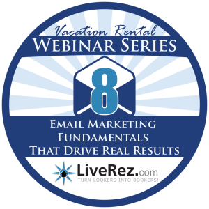 Vacation Rental Webinar Email Marketing