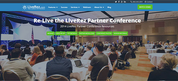 Partner Conference Page