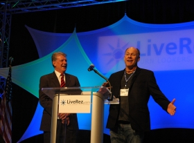 LiveRez CEO Tracy Lotz - Idaho Governor Butch Otter