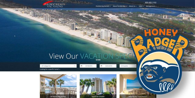 Perdido Realty Vacations Wins LiveRez Honey Badger Award
