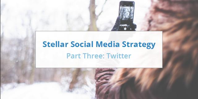Social Media Strategy - Twitter